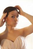 Portrait of a beautiful woman — Stock Photo