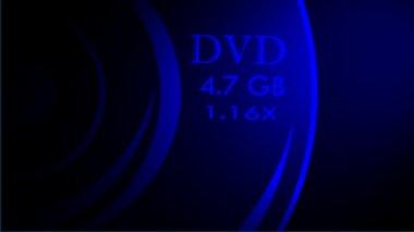 DVD animation — Stock Video #12648809