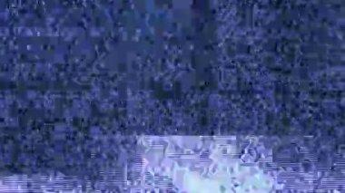 TV noise — Stock Video