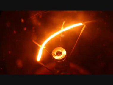 Tungsten bulb — Stock Video #25977803