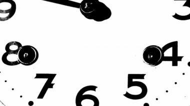 Stary zegar — Wideo stockowe