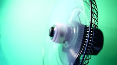 Electric fan — Stock Video
