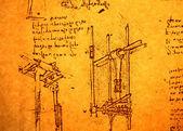 Inżynieria rysunku — Zdjęcie stockowe
