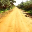 Stock Video: Dirt road