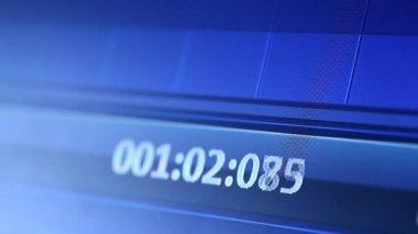 Digital clock — Stock Video