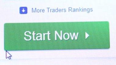 Internet web chart — Stock Video