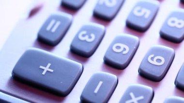 Calculator — Stock Video