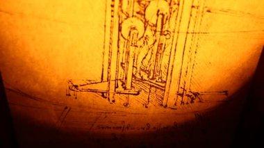 莱昂纳多 · 达 · 芬奇工程 — 图库视频影像