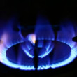 Stock Video: Gas burner