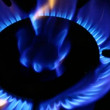Gas burner — Video Stock