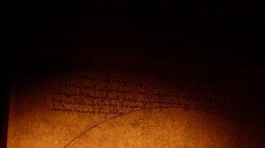 Leonardo da Vinci anatomy — Stock Video