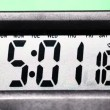 Digital clock — Stock Video