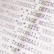 Stock Photo: HTML codes