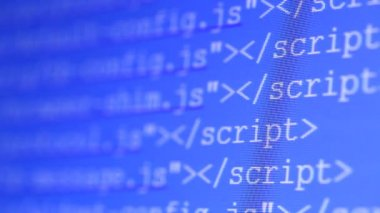 HTML codes — Stock Video