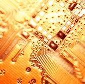 Computer microscheme — Fotografia Stock