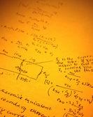 Matematický text — Stock fotografie