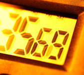 Digital clock — Stock Photo