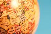 Vintage globe — Stockfoto