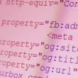 HTML codes — Stock Photo #39815841
