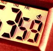 Digital clock — Stock Photo