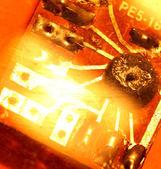 Placa de circuito — Fotografia Stock