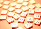 Alphabet et nombres — Photo
