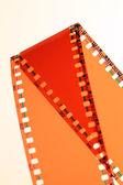 否定的な映画 — ストック写真