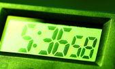 Digital clock — Stockfoto