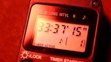 Digital timer — Stock Video #40641757