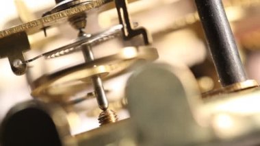 Clock Mechanism — Stock Video