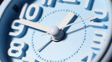 Clock Face Close up — Stock Video