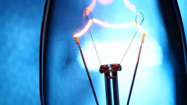 Electric Tungsten Bulb — Stock Video