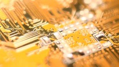 Circuit board — Stock Video