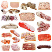 Cooked meats — Stock Photo