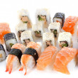 Assortment sushi — Stock Photo