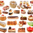 Stock Photo: Group of cakes