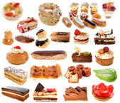 Group of cakes — Stock Photo