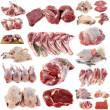 Stock Photo: Group of meats