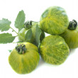 Green zebra tomatoes — Stock Photo