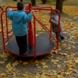 Stock Video: Kids on playground 2