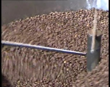 Coffee mixing infinite loop clip — Stock Video