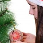 Boże Narodzenie portret — Zdjęcie stockowe