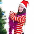 Christmas portrait — Stock Photo #14705787