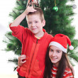 Christmas portrait — Stockfoto #14740161