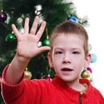 Weihnachten-Porträt — Stockfoto