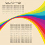 Rainbow background — Stock Vector #1896310