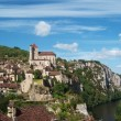 Saint-Cirq-Lapopie - Stock Photo