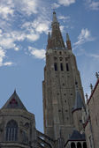 Church of Our Lady, Bruges. — Stock Photo