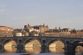 The Old Bridge in Toulouse. — Stock Photo