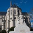 Church of St. Martin in Pau — Stock Photo